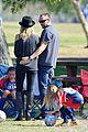 heidi klum martin kirsten sunday soccer with the kids 24