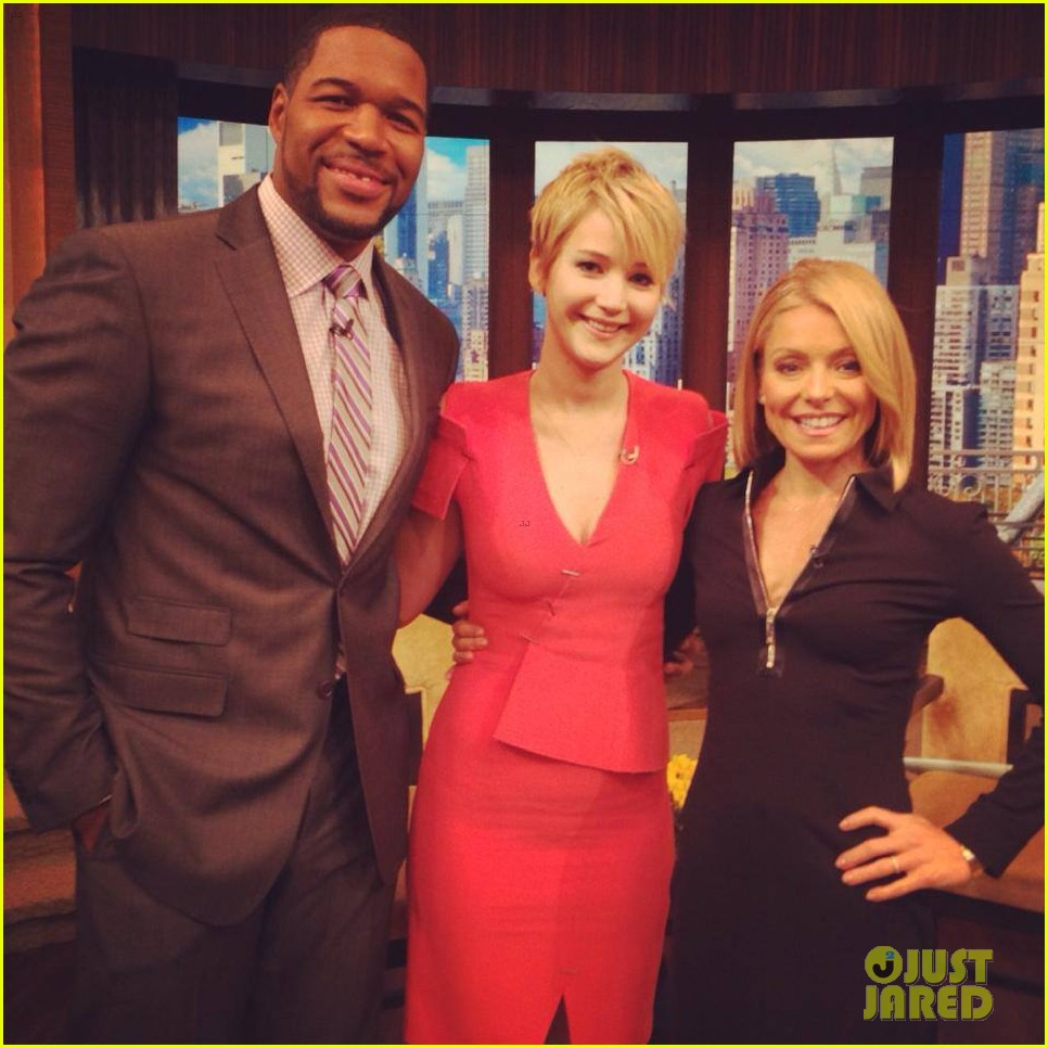 jennifer lawrence live with kelly michael 02