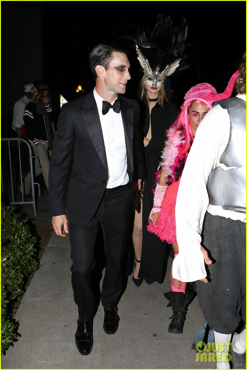 adam levine behati hold hands after hosting halloween party 132984200