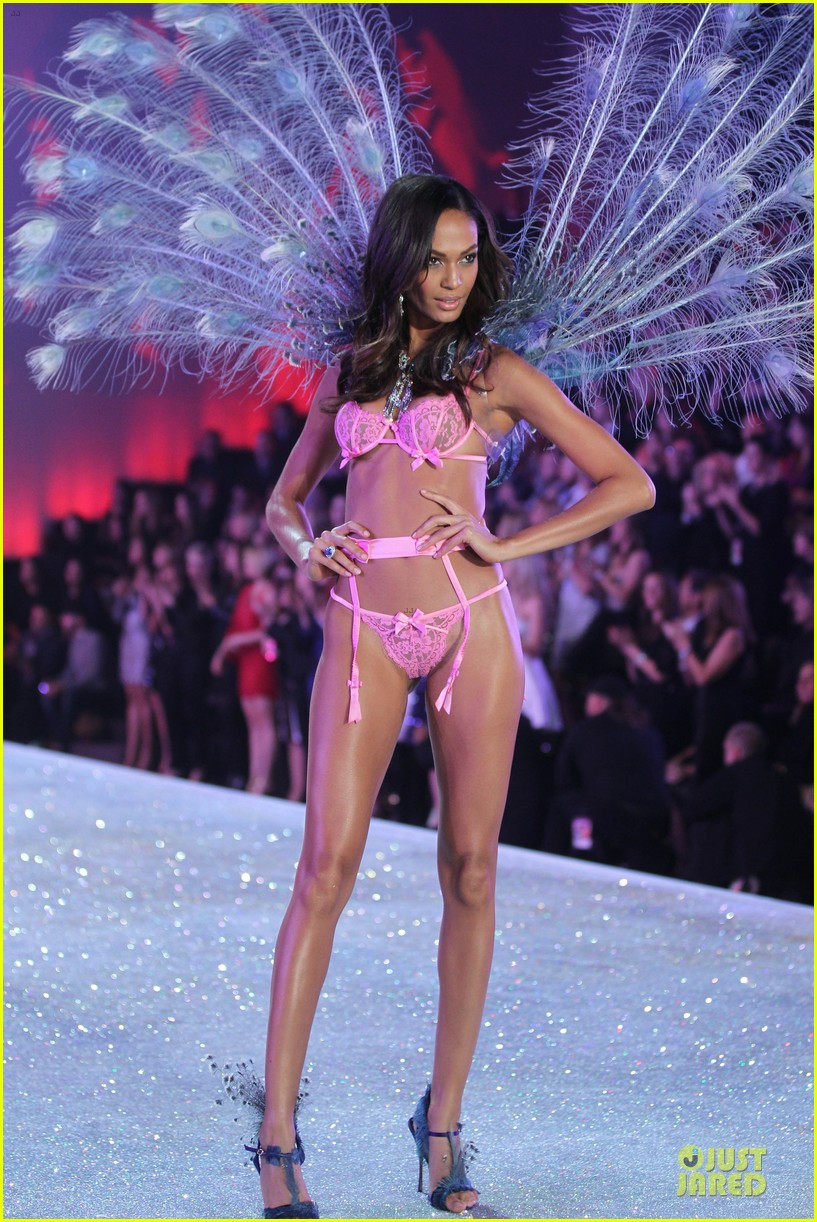 adriana lima lily aldridge victorias secret fashion show 2013 05