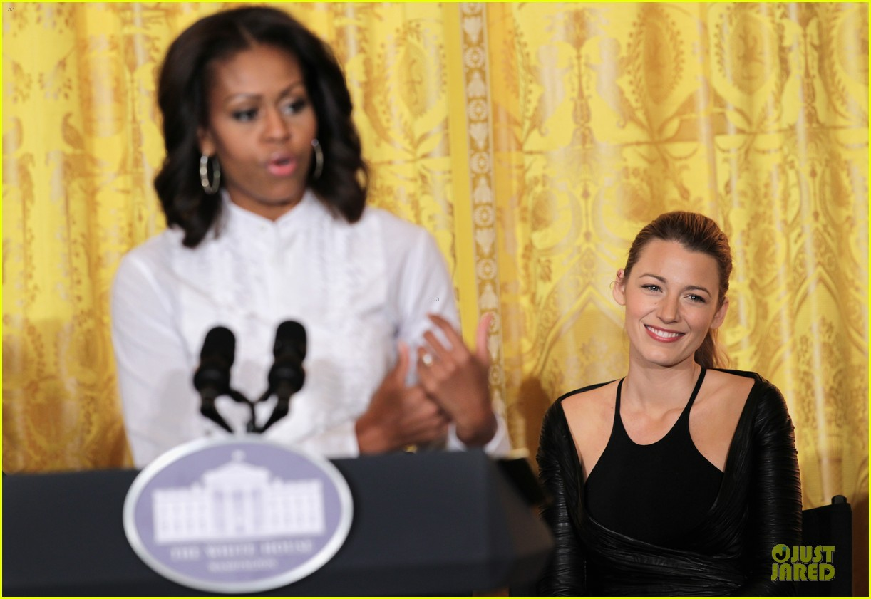 blake lively film production workshop at the white house 12