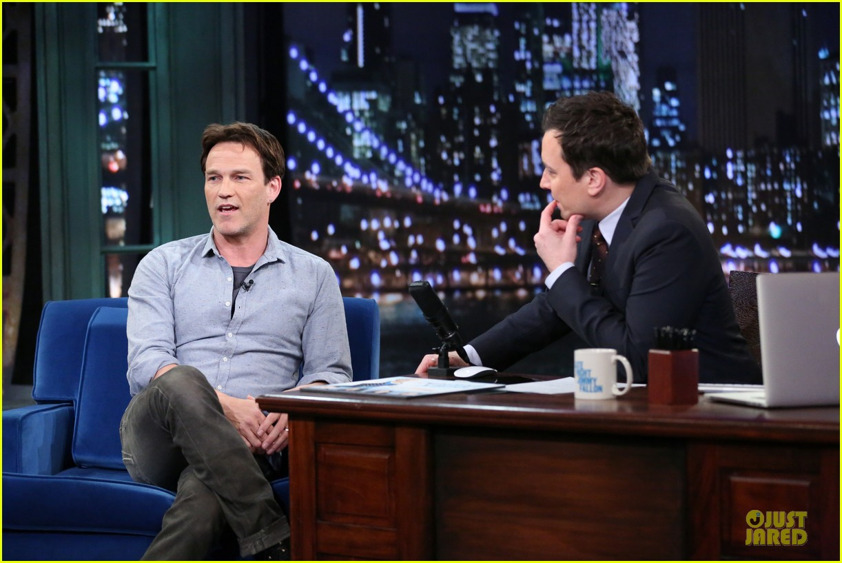 stephen moyer sound of music promo on fallon 04
