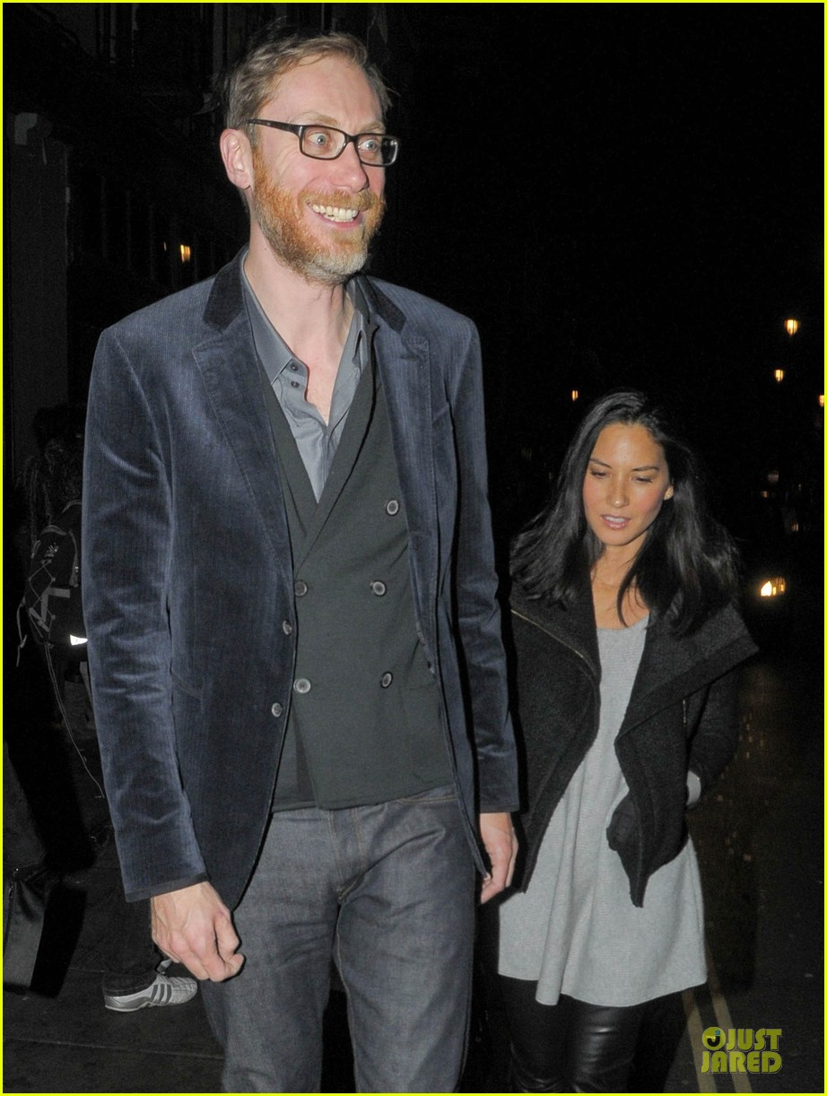 olivia munn groucho club with stephen merchant 062994056