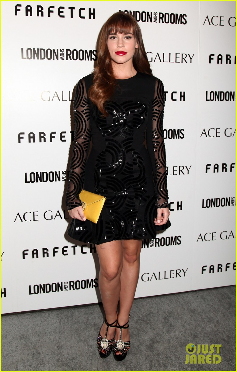 olga kurylenko holland roden london show rooms opening 062987063