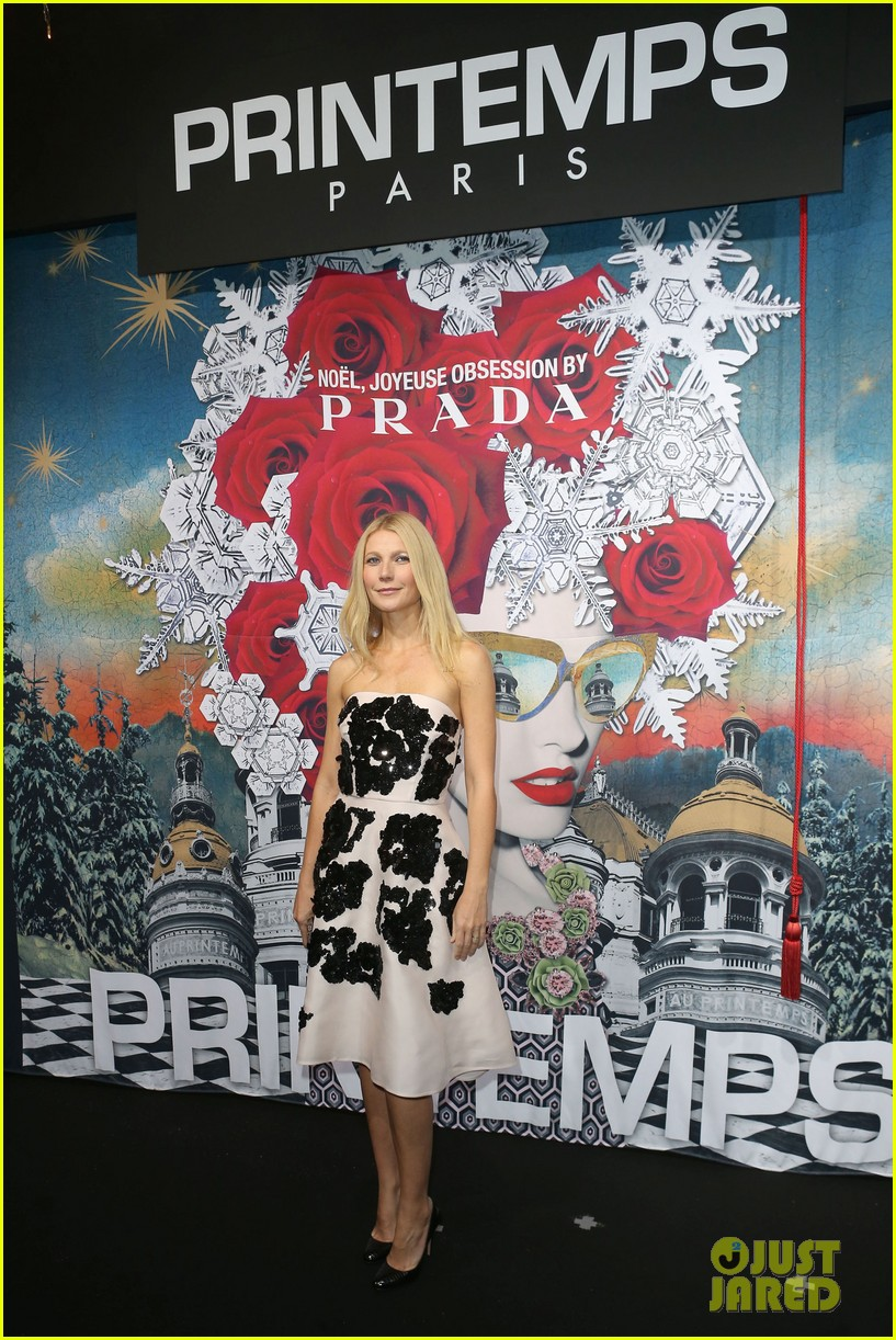 gwyneth paltrow printemps christmas decorations inauguration 052987754