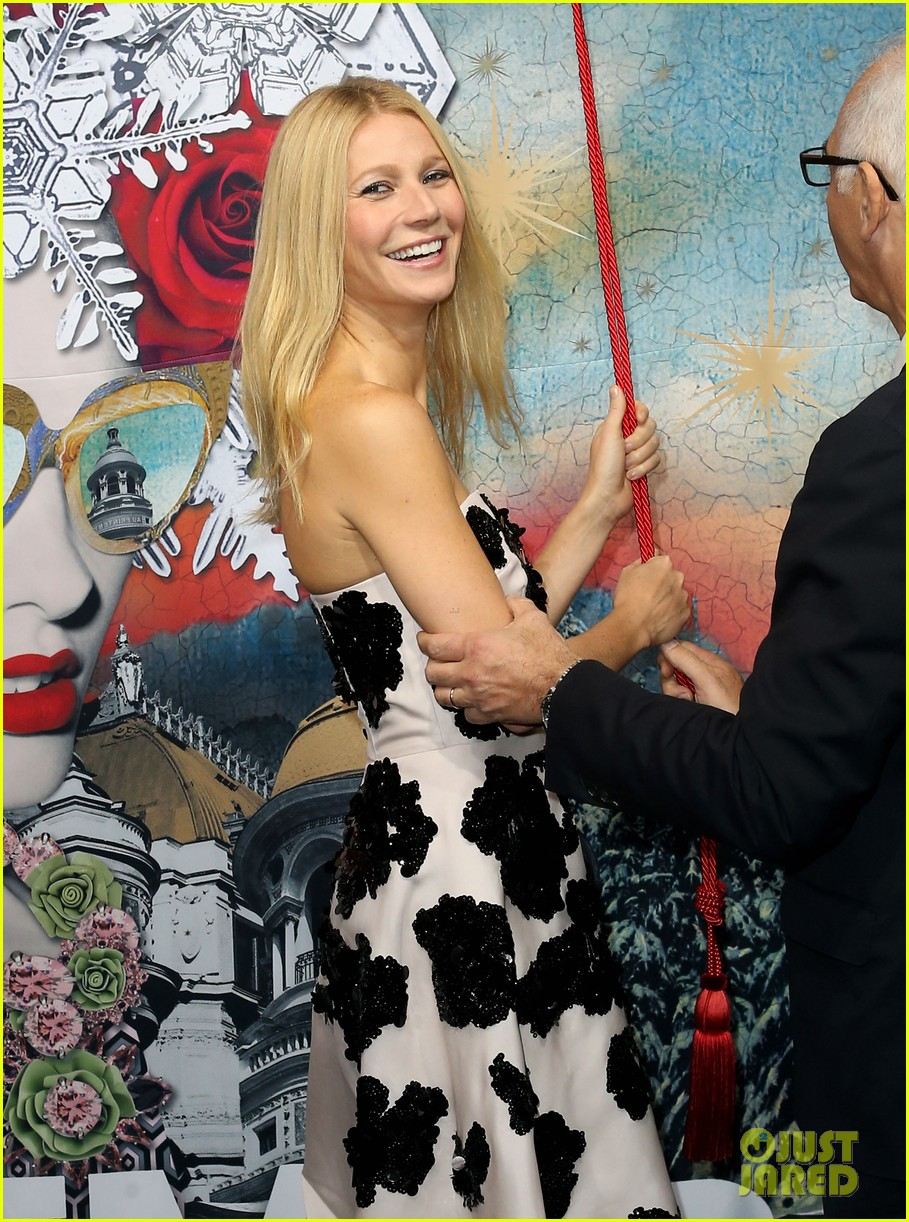 gwyneth paltrow printemps christmas decorations inauguration 19