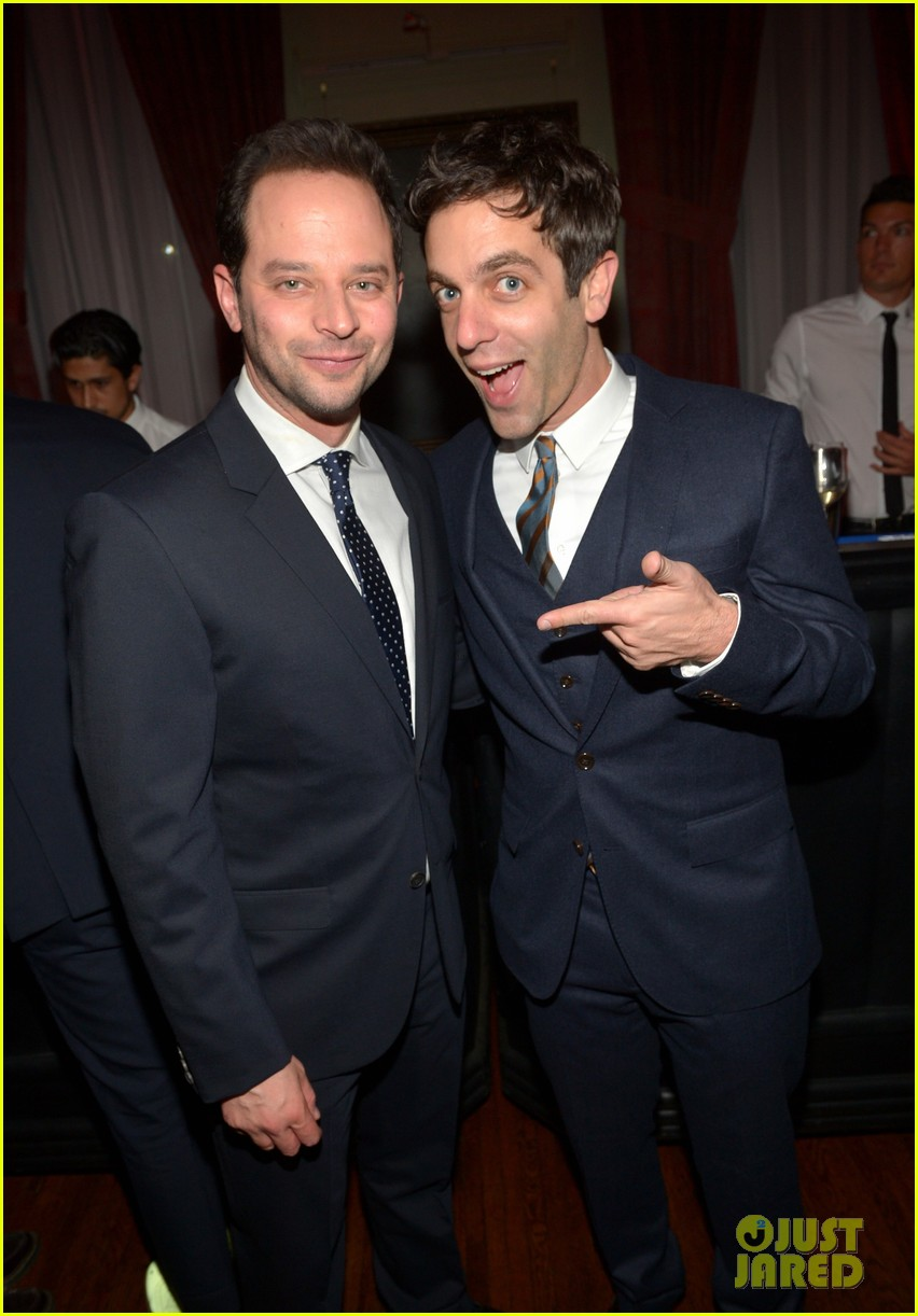 amy poehler nick kroll gq men of the year party 032991491