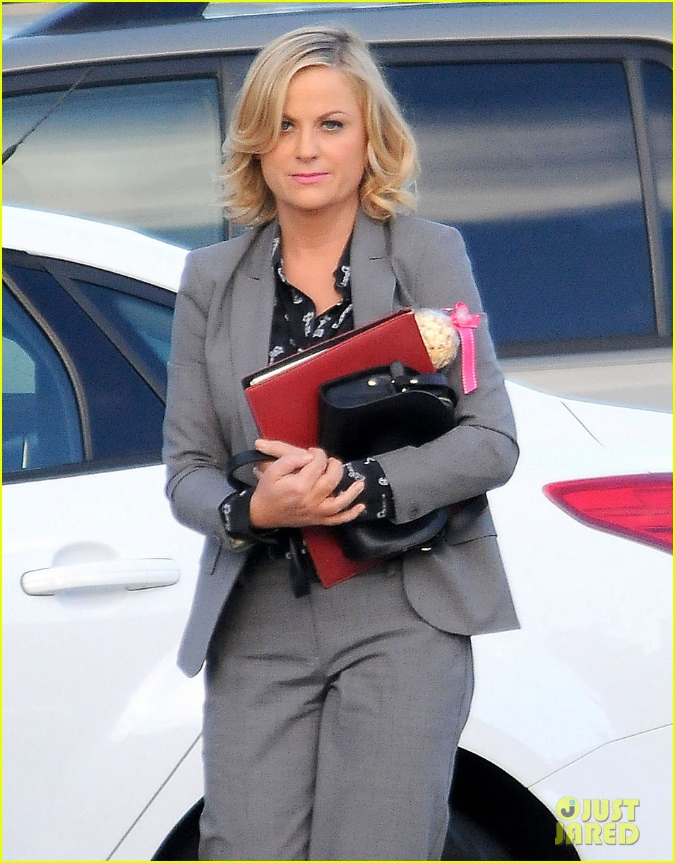 amy poehler adam scott film parks recreation together 022988431