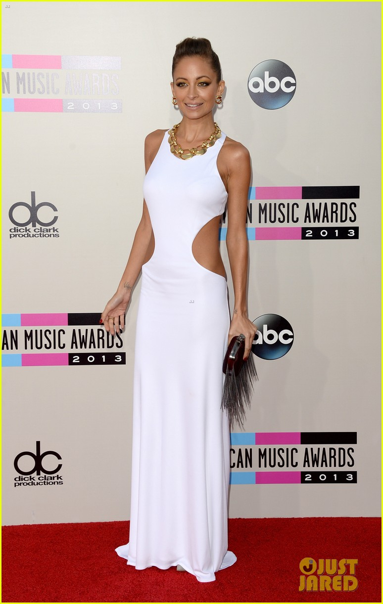 nicole richie heidi klum amas 2013 red carpet 232999362