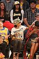 rihanna bff melissa forde hold hands at lakers game 16