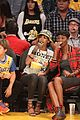 rihanna bff melissa forde hold hands at lakers game 20