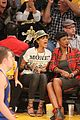 rihanna bff melissa forde hold hands at lakers game 21