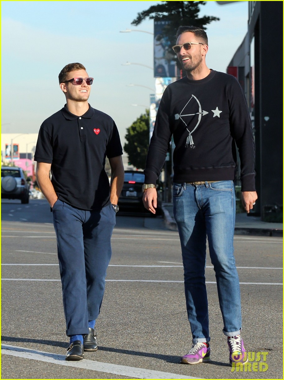robbie rogers pics up suit before thanksgiving 123001310