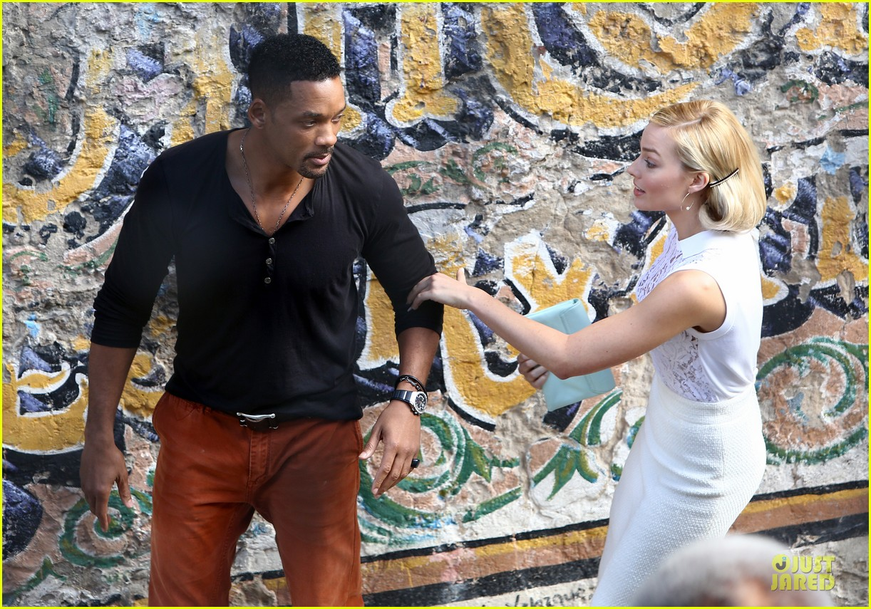 will smith margot robbie focus filming in argentina 022998613
