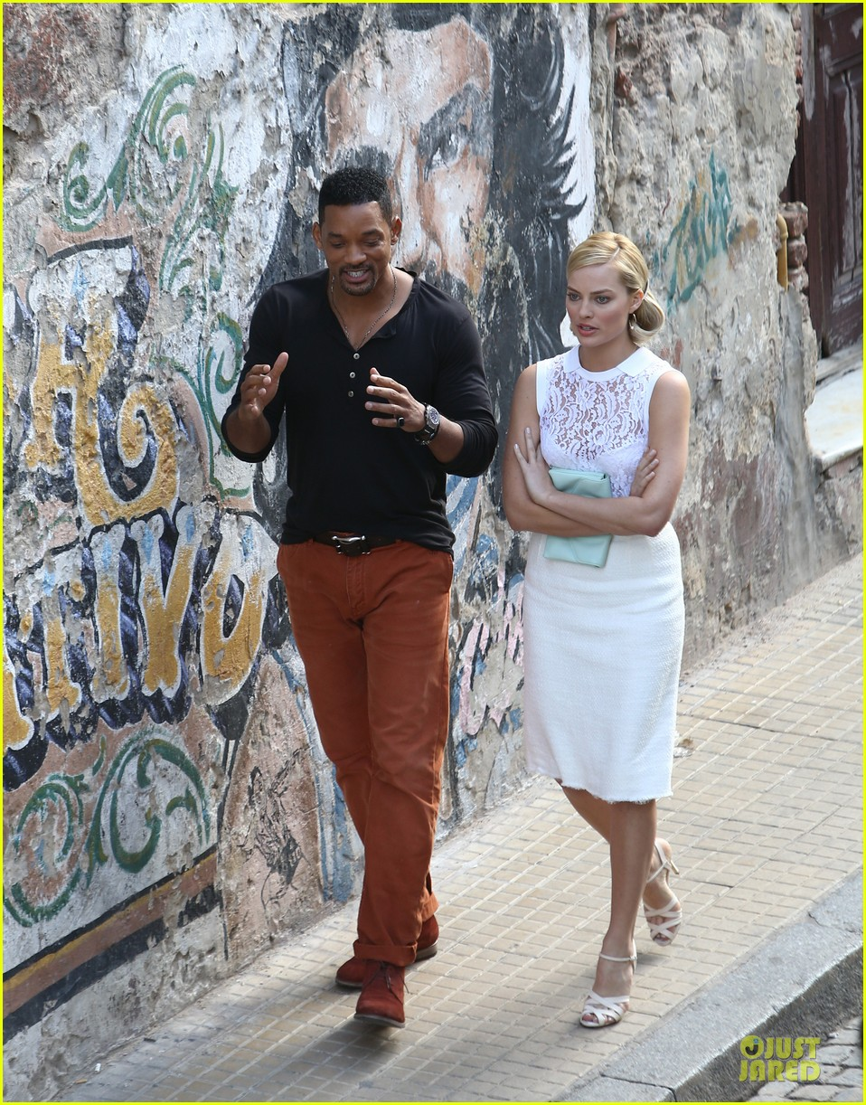 will smith margot robbie focus filming in argentina 032998614