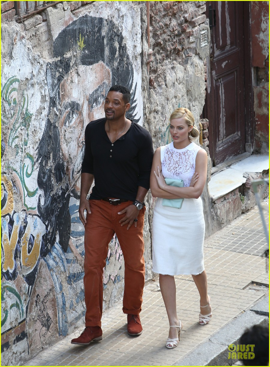 will smith margot robbie focus filming in argentina 052998616