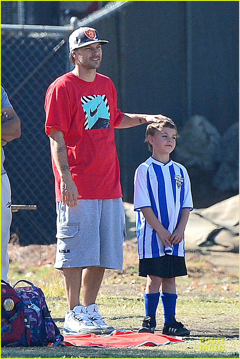 britney spears david lucado soccer game with kevin federline 122989152