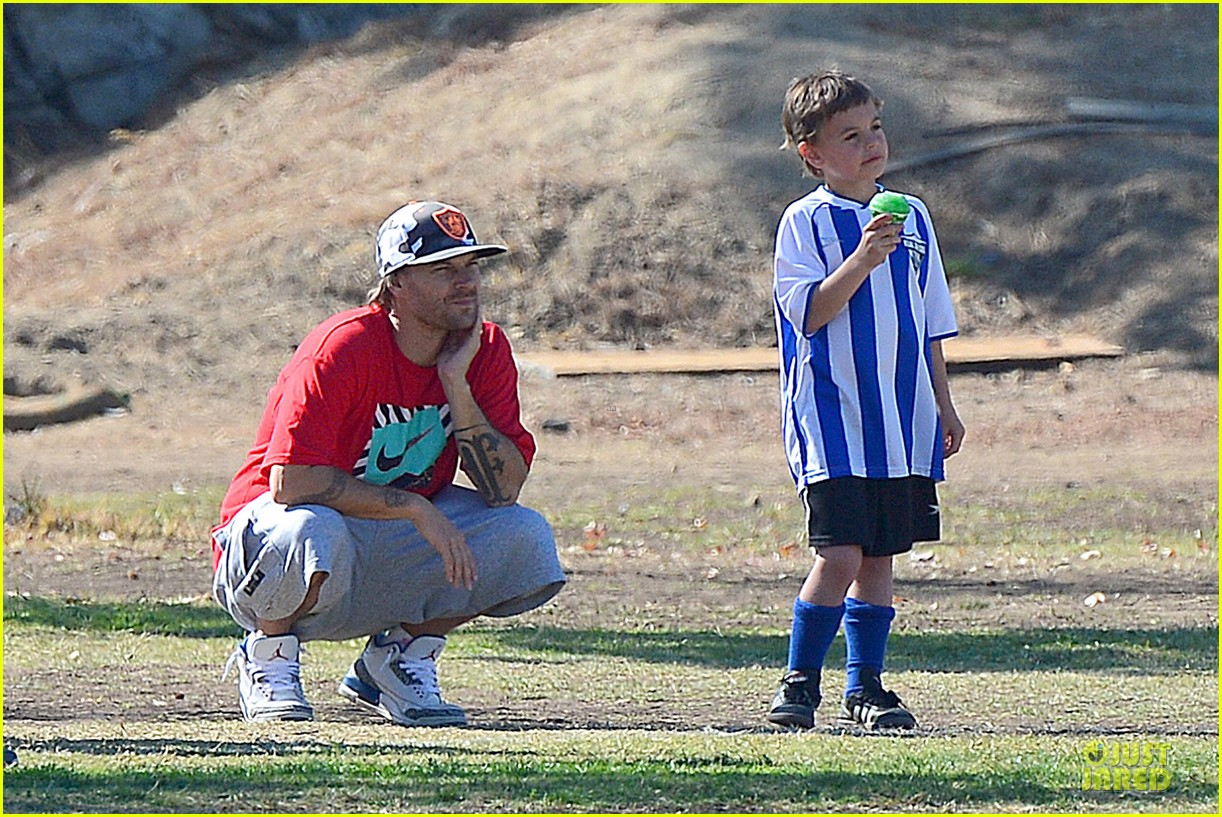 britney spears david lucado soccer game with kevin federline 30