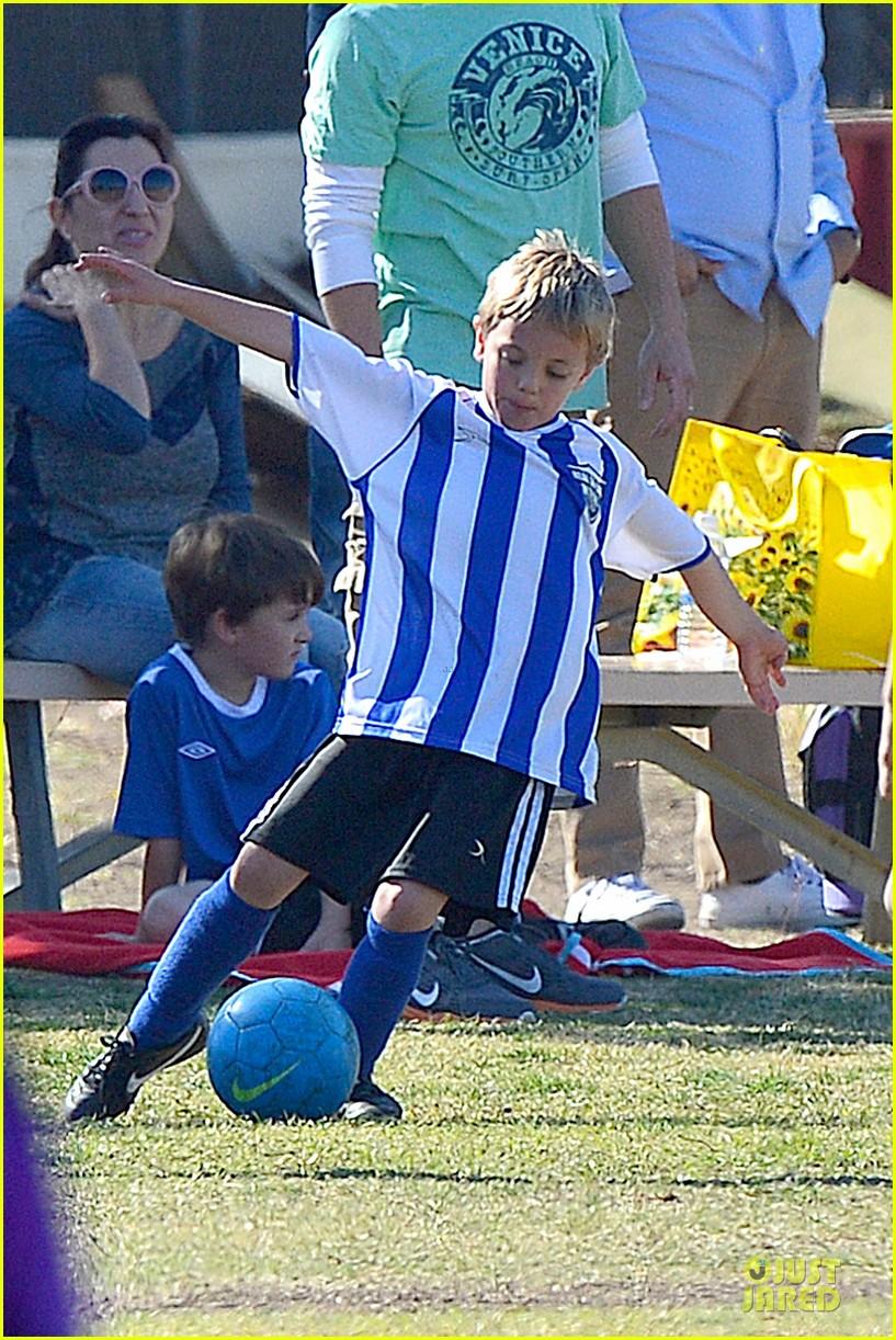 britney spears david lucado soccer game with kevin federline 372989177