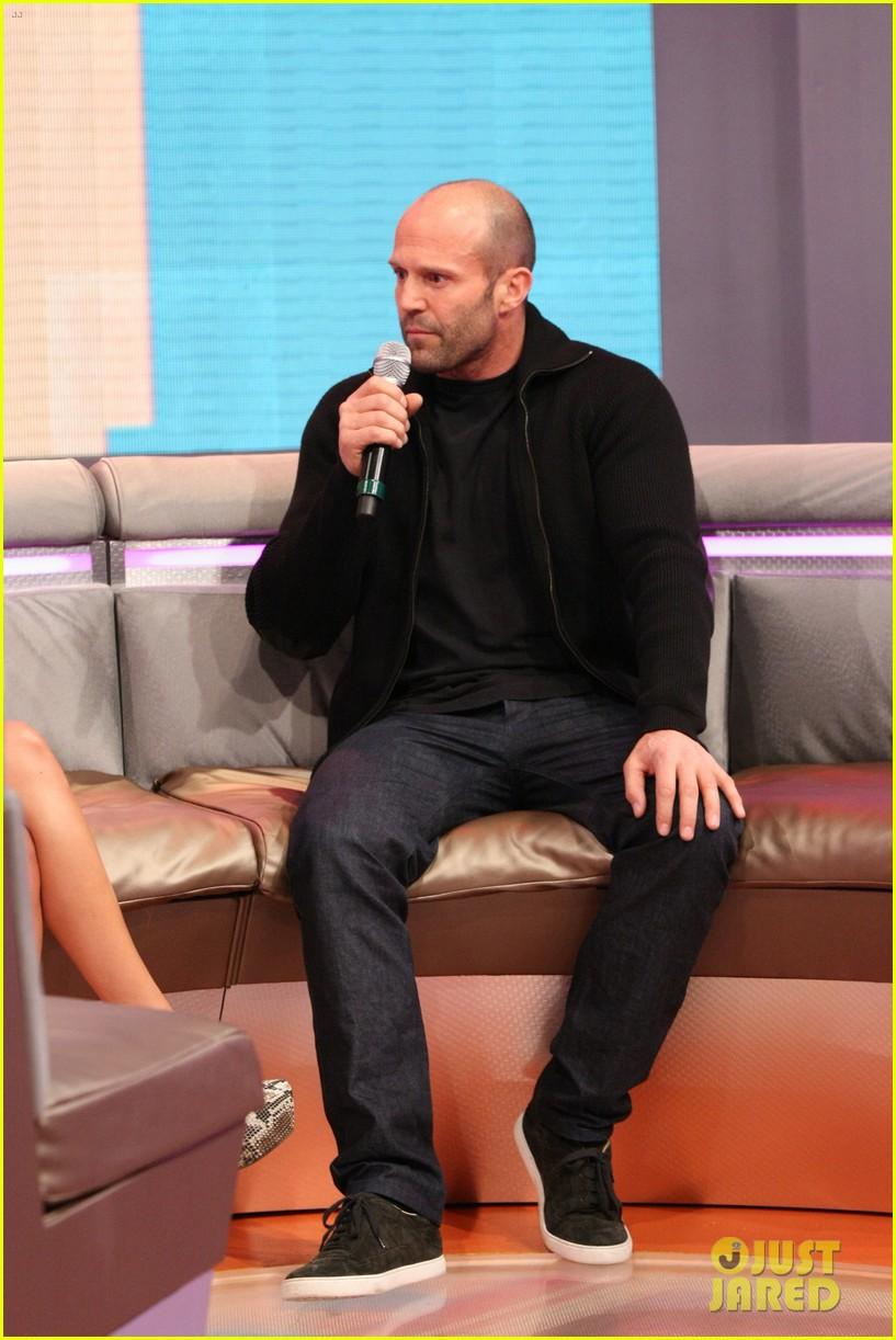 jason statham promotes homefront on 106 park 052986469