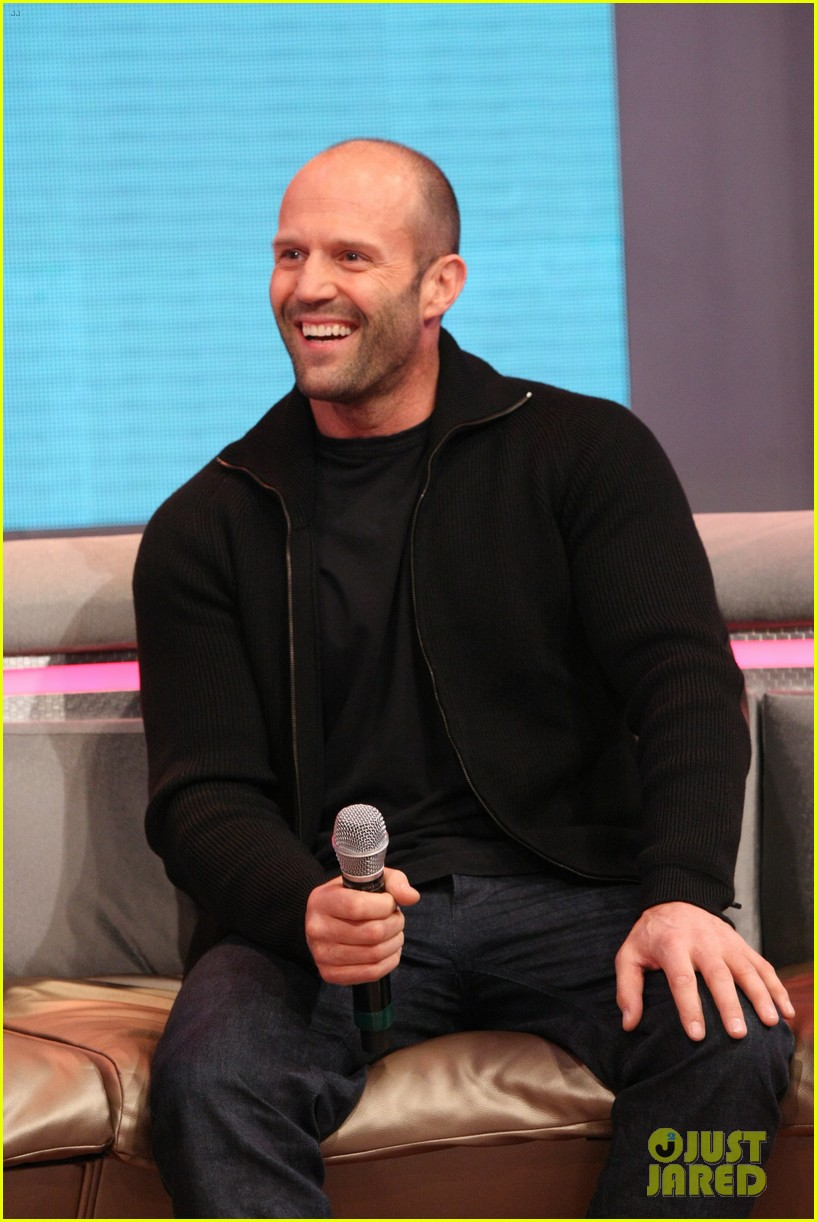 jason statham promotes homefront on 106 park 06