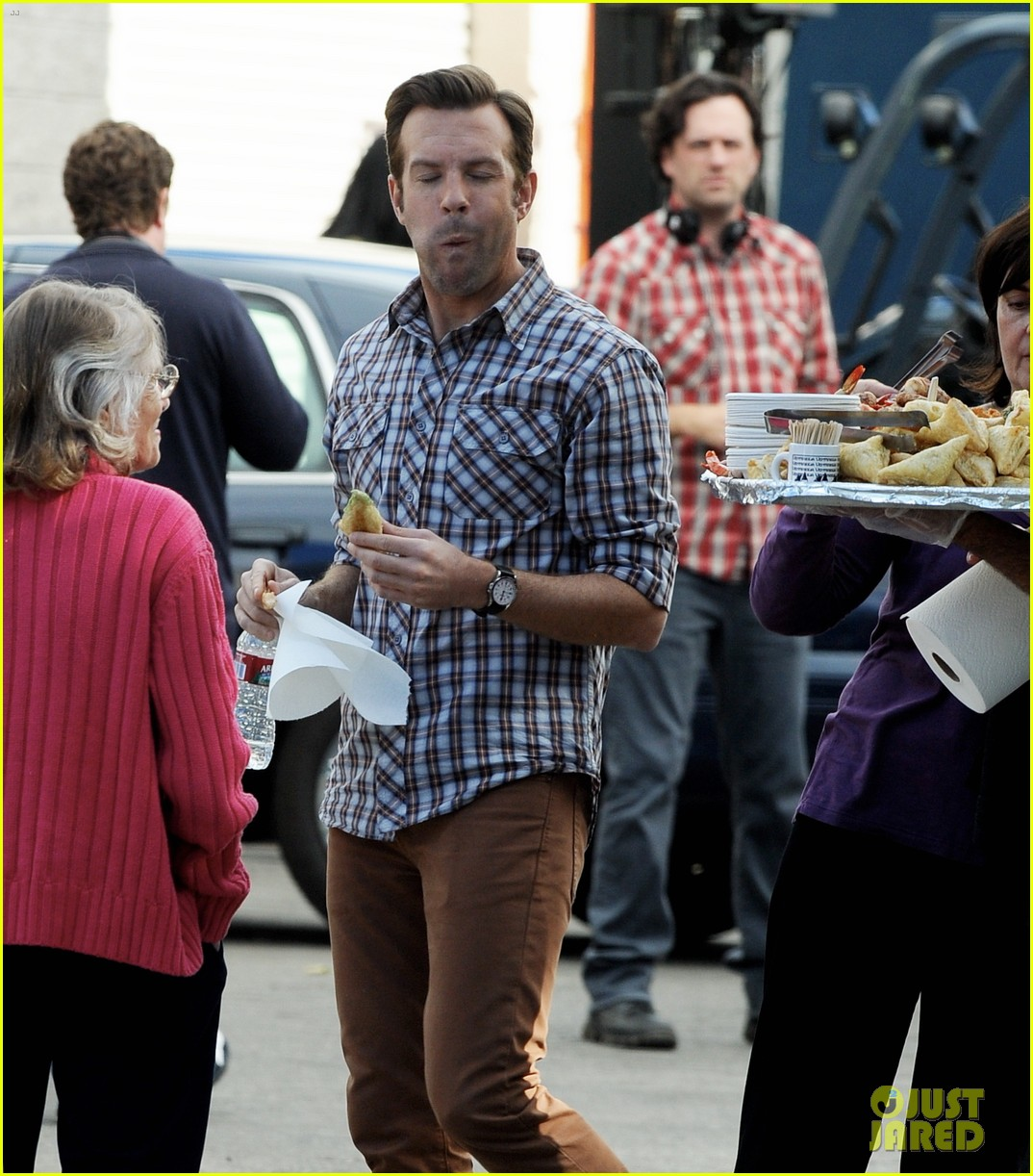 jason sudeikis jason bateman work on horrible bosses 2 11
