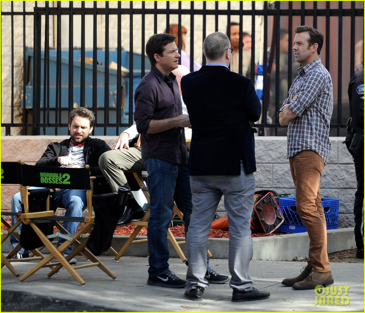 jason sudeikis jason bateman work on horrible bosses 2 153001699