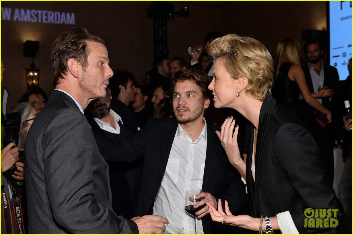 charlize theron mark wahlberg reunite at premiere after party 052991933