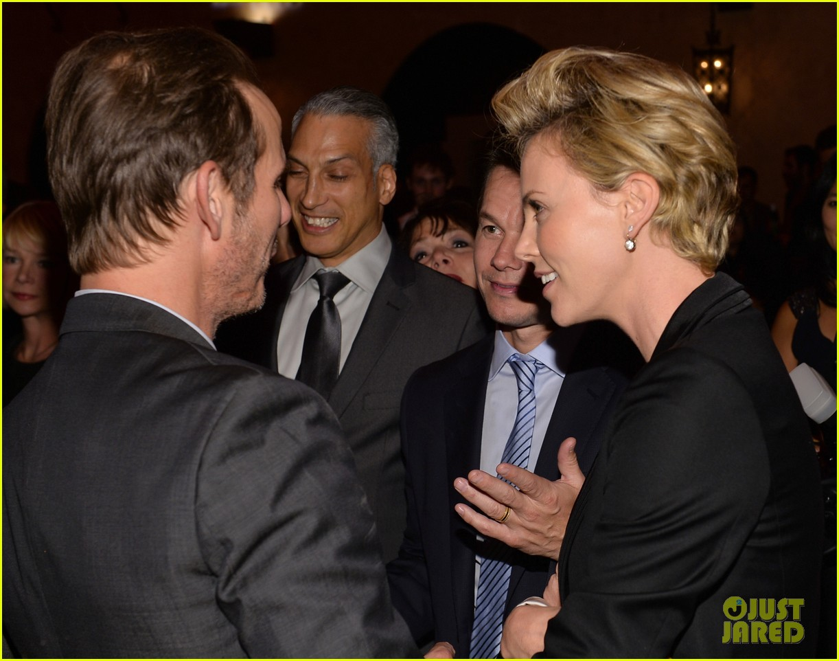 charlize theron mark wahlberg reunite at premiere after party 14