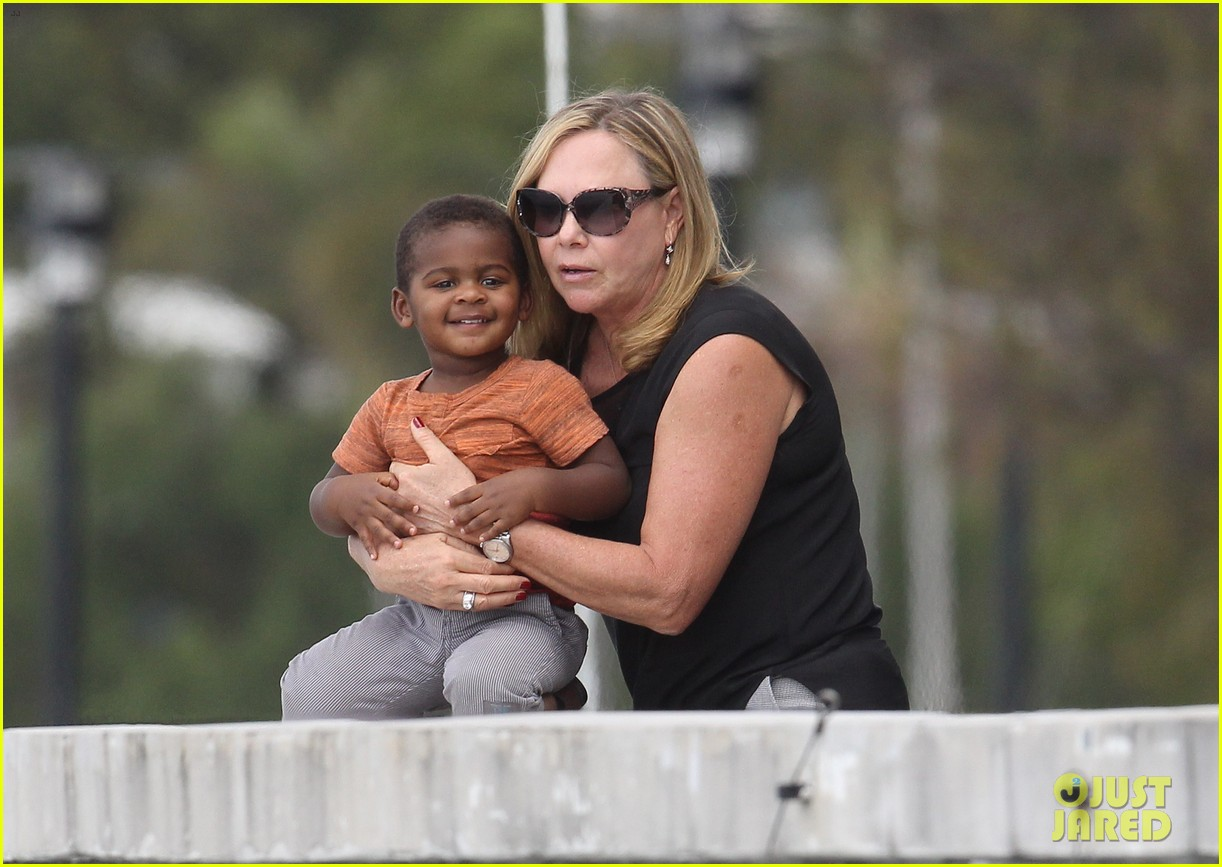charlize theron sydney outing with her little man jackson 042999865