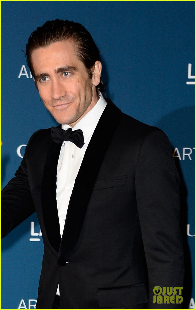 jake gyllenhaal zoe saldana lacma art film gala 2013 08