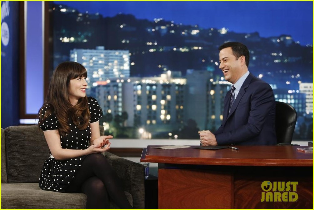 zooey deschanel jimmy kimmel live watch now 012991640