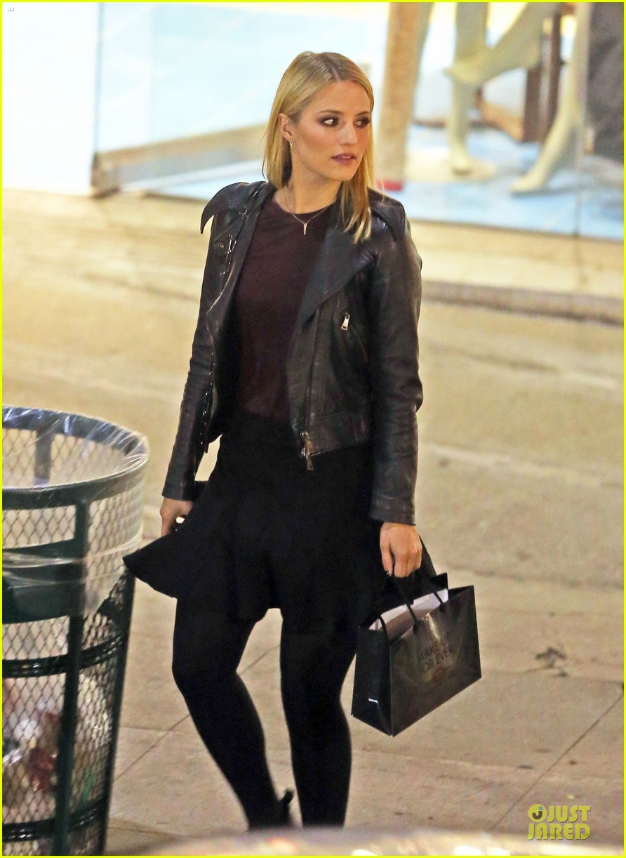 dianna agron fun shoot marks beginning of holiday break 173015709