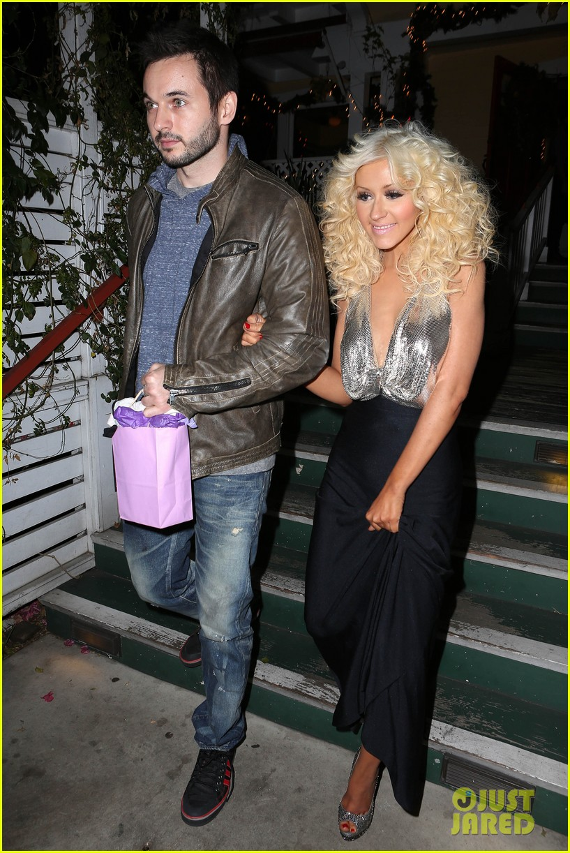 christina aguilera matthew rutler off vine dinner after the voice finale 133014062