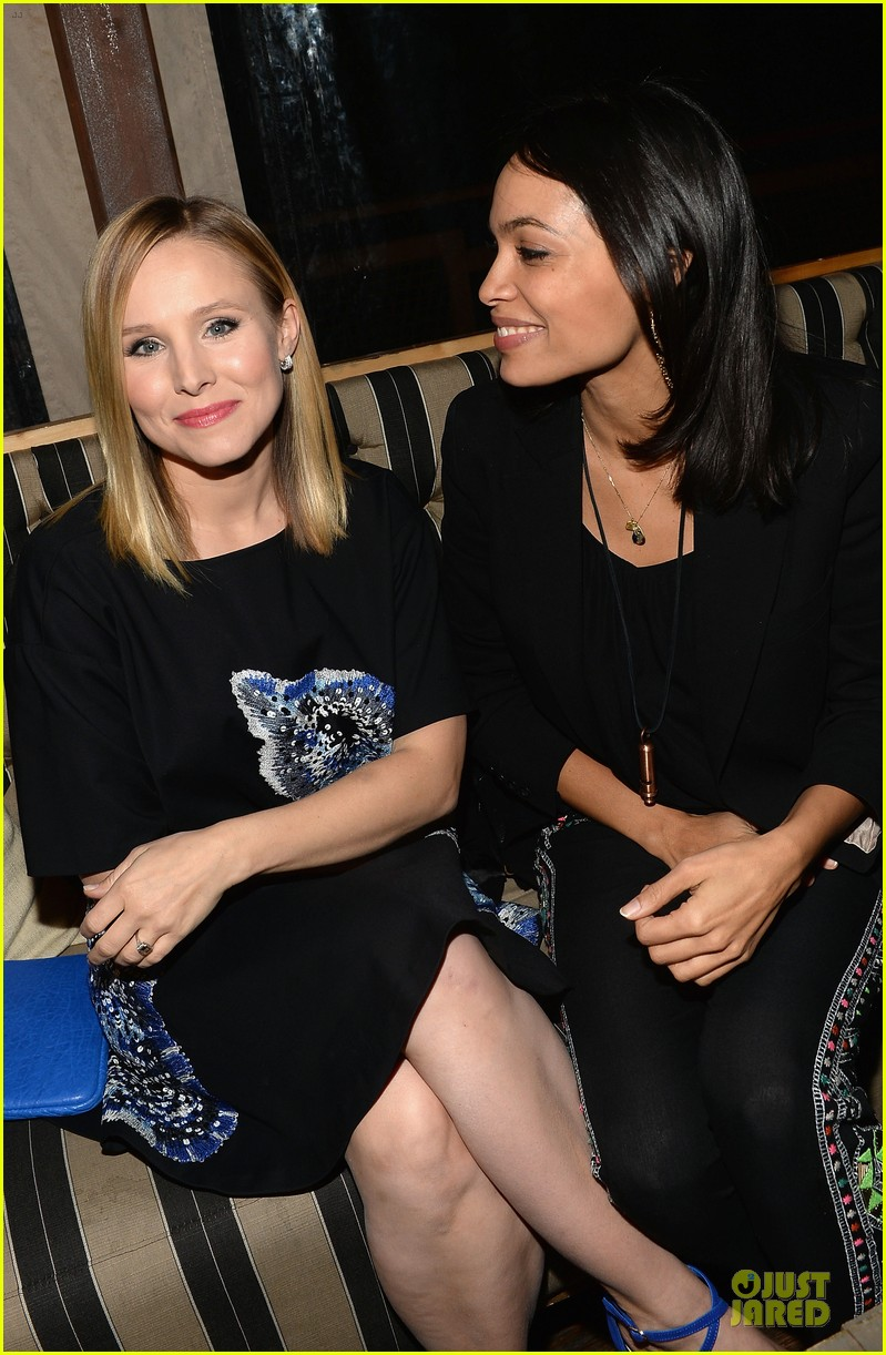 kristen bell rosario dawson hobbit mobile game event 09