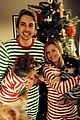 kristen bell dax shepard share christmas pic with their pups 01