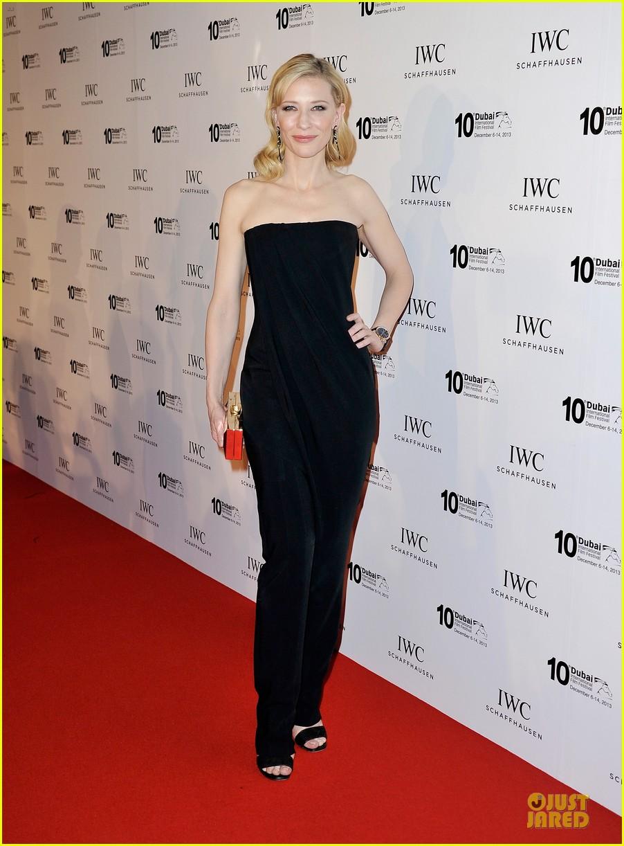 cate blanchett michael b jordan iwc filmmakers award 08