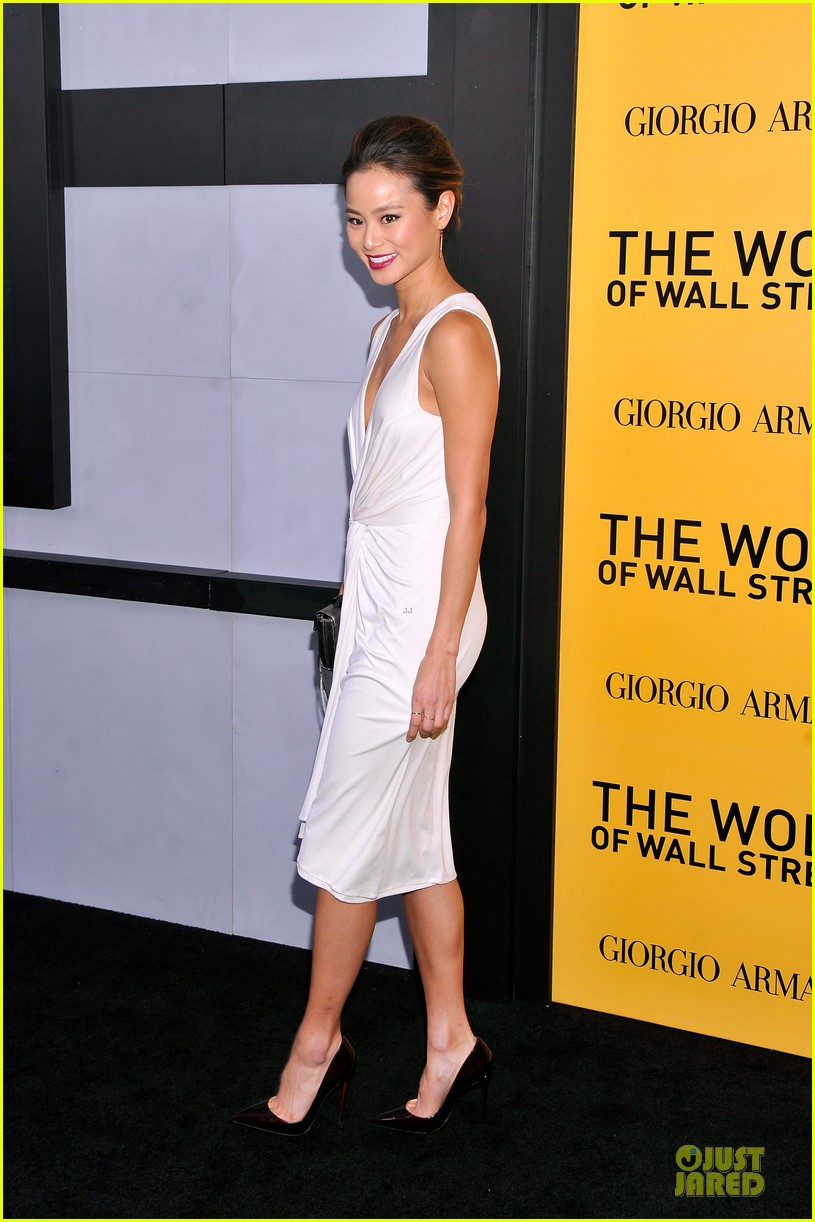 orlando bloom jamie chung wolf of wall street premiere 073013931