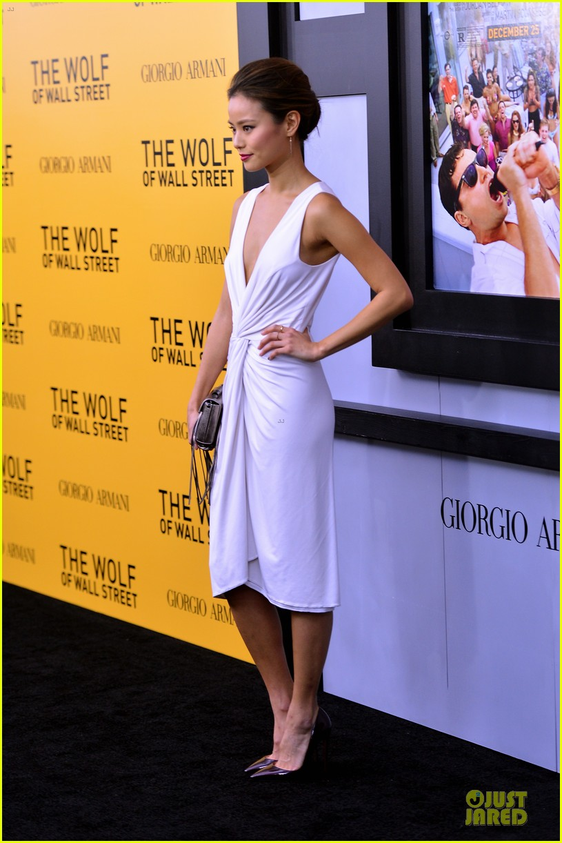 orlando bloom jamie chung wolf of wall street premiere 08