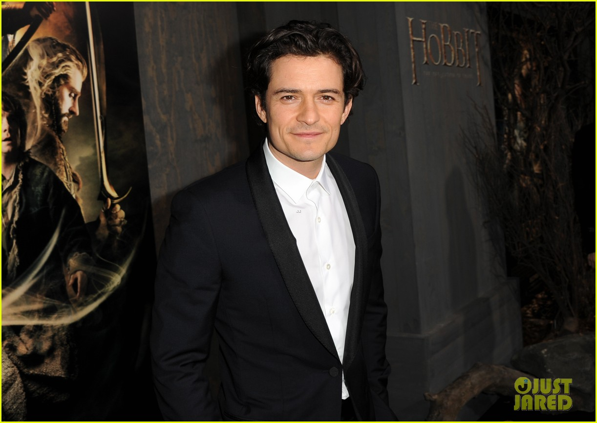orlando bloom evangeline lilly hobbit hollywood premiere 18