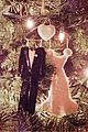 kate bosworth hangs wedding ornament on christmas tree 03
