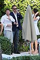 gerard butler relaxes at miami hotel pool with friends 17
