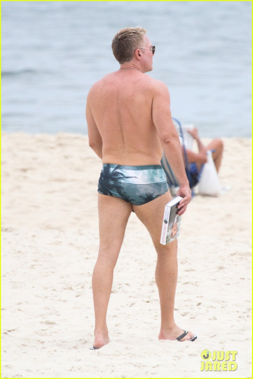 gmas sam champion shirtless buff beach time 13