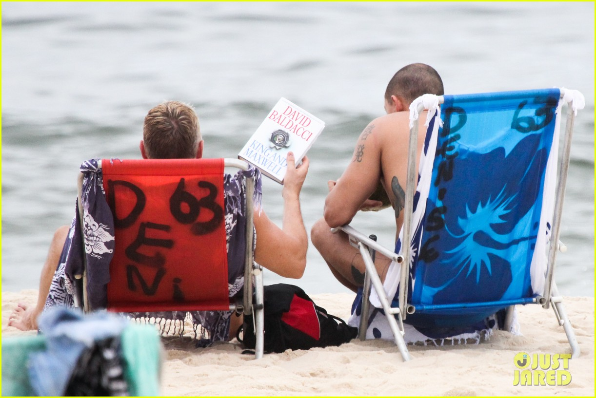gmas sam champion shirtless buff beach time 153017886