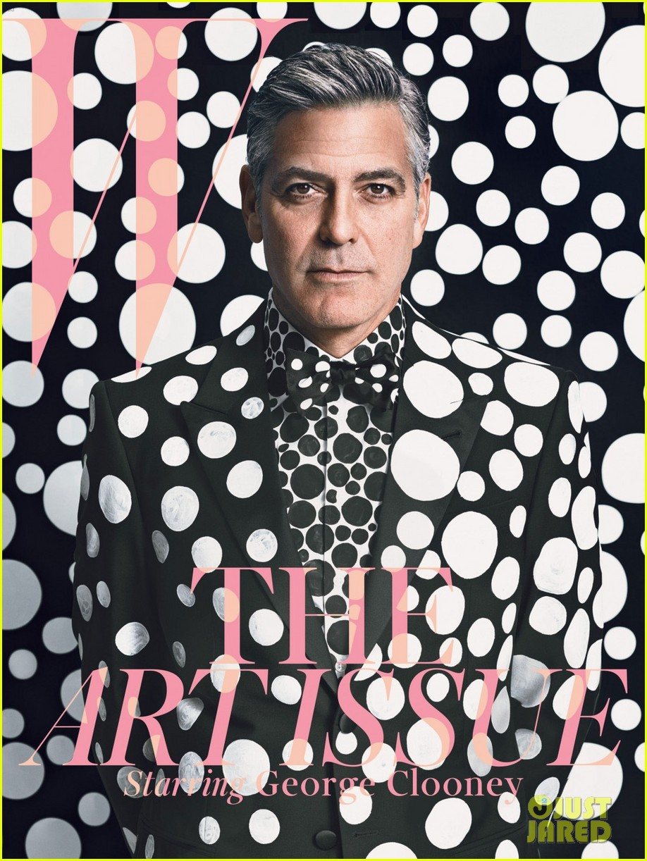 george clooney covers w magazine art issue 053003901