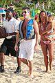 simon cowell shirtless holiday vacation with terri seymour 29