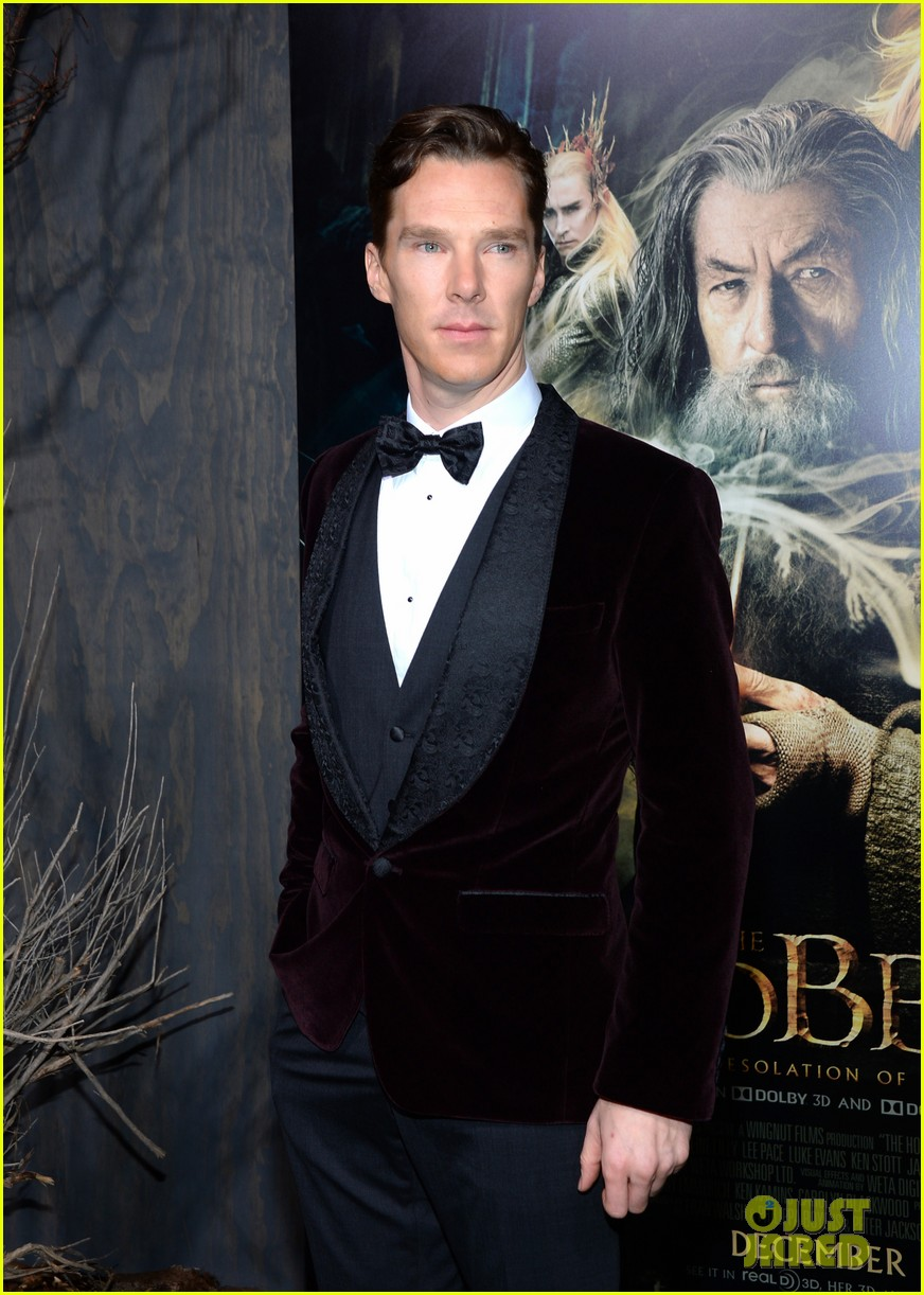 benedict cumberbatch martin freeman hobbit premiere 10
