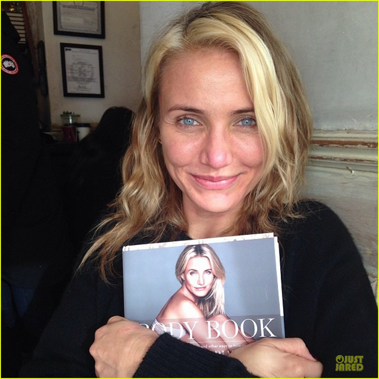 cameron diaz the body book available now 053020329