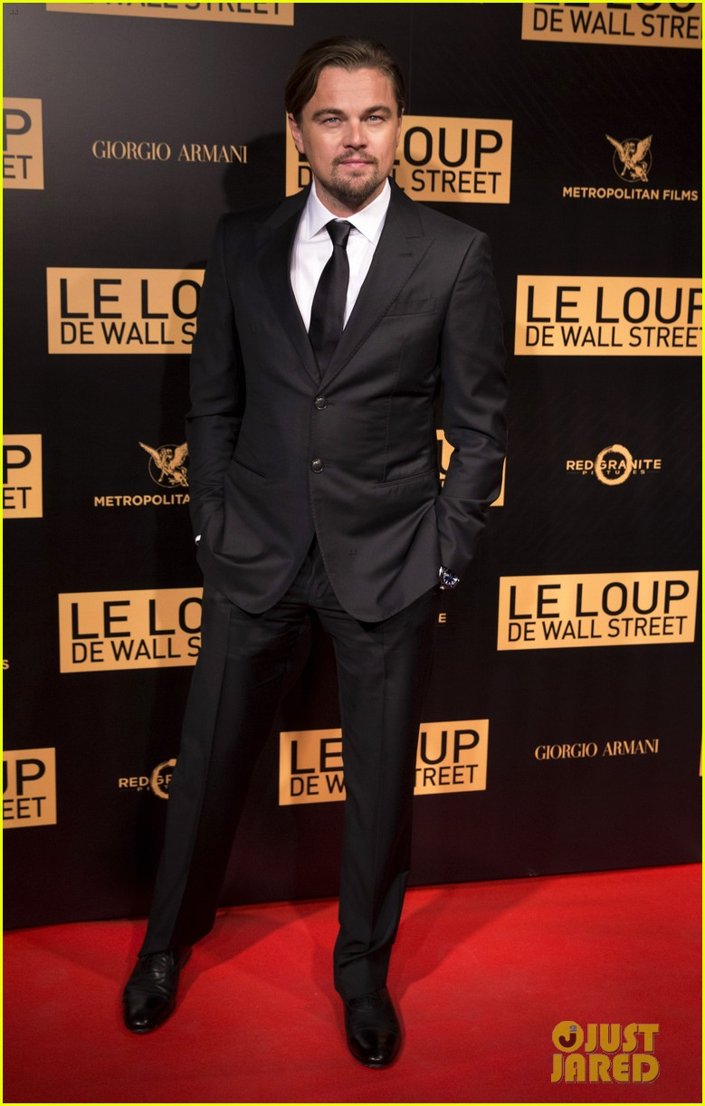 leonardo dicaprio wolf of wall street paris photo call 013008432
