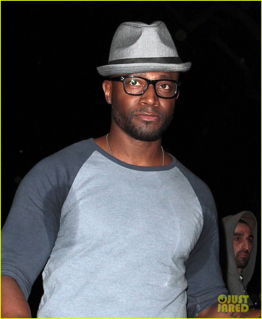 taye diggs sweats it out at post christmas club night 043018312
